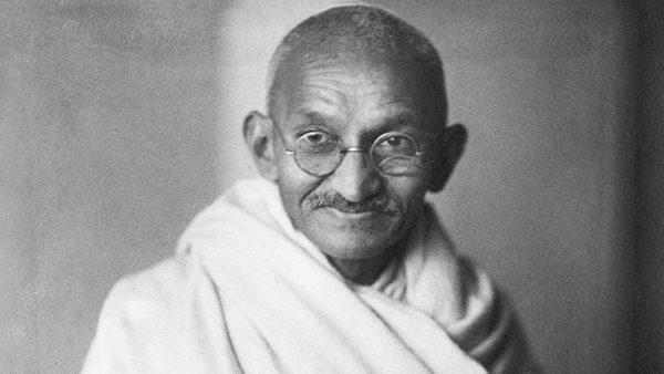 ¿Qué dice el rostro de Mahatma Gandhi?