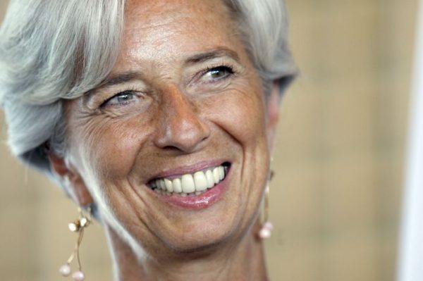 ¿Qué dice el rostro de Christine Lagarde?