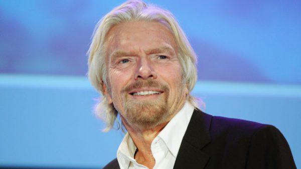 ¿Qué dice el rostro de Richard Branson?