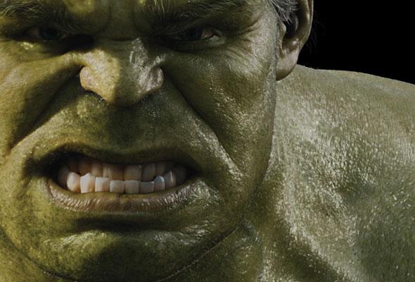 ¿Qué dice el rostro de Hulk?