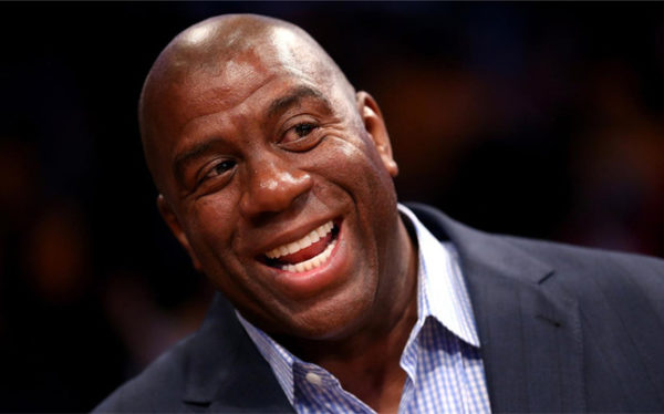 ¿Qué dice el rostro de Magic Johnson?
