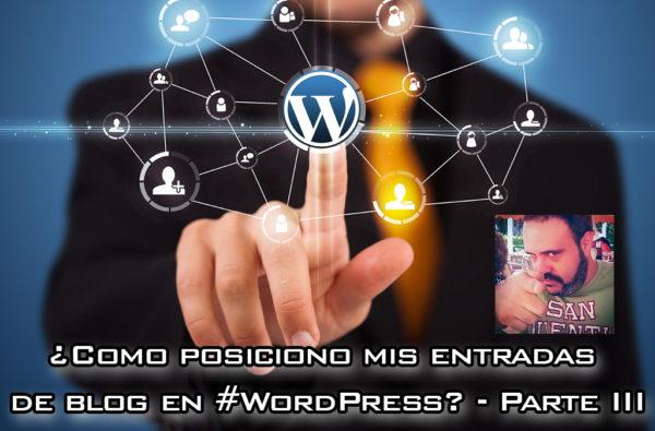 ¿Cómo posiciono mis entradas de blog en WordPress? – Parte III