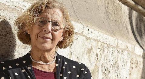 ¿Qué dice el rostro de Manuela Carmena?