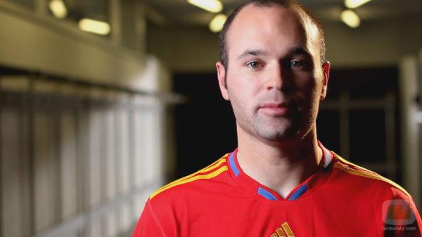 ¿Qué dice el rostro de Andrés Iniesta?