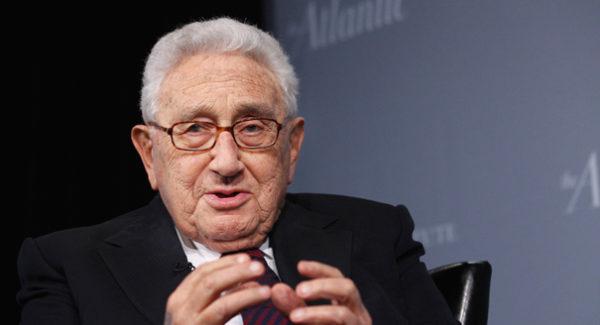 ¿Qué dice el rostro de Henry Kissinger?