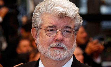 ¿Qué dice el rostro de George Lucas?