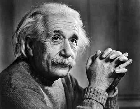 ¿Qué dice el rostro de Albert Einstein?