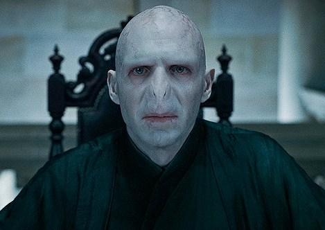 ¿Qué dice el rostro de Lord Voldemort?