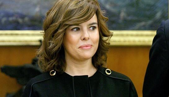 ¿Qué dice el rostro de Soraya Sáenz de Santamaría?