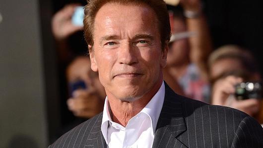 ¿Qué dice el rostro de Arnold Schwarzenegger?