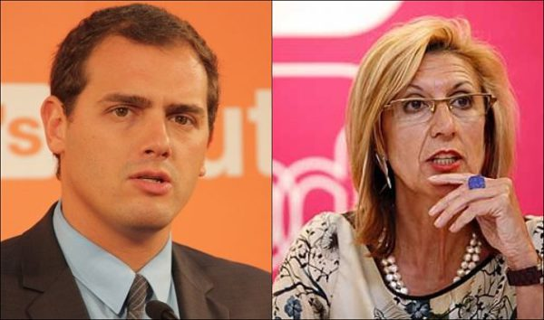 Rosa Diez y Albert Rivera, ¿Un equipo compatible?