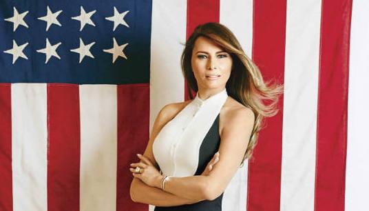 ¿Qué dice el rostro de Melania Trump?