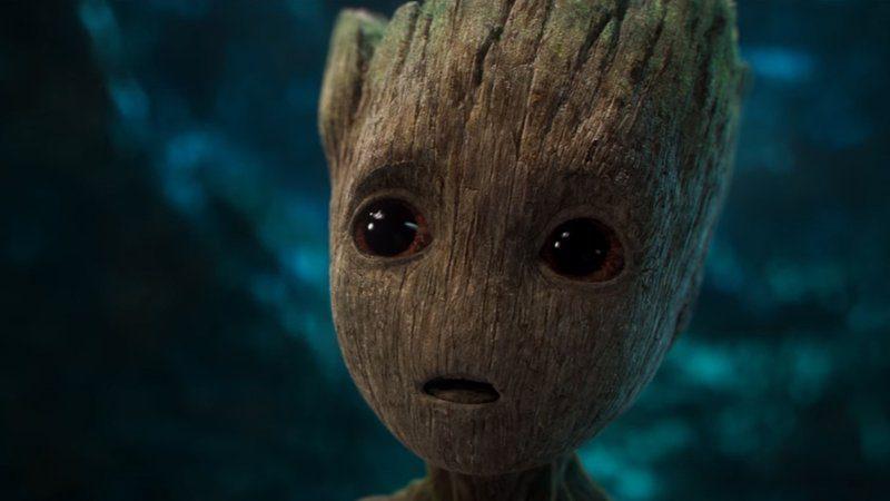 ¿Qué dice el rostro de Mini Groot?